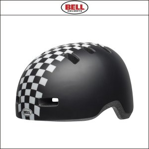 BELL【ベル】  LIL RIPPER リルリッパー ブラック/ホワイト チェッカーズ|agbicycle