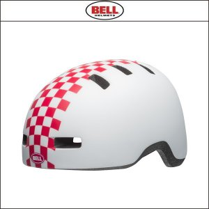 BELL【ベル】  LIL RIPPER リルリッパー マット ホワイト/ピンク チェッカーズ|agbicycle
