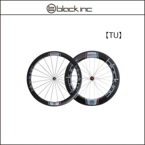 blackinc ブラックインク BLACK COMBO Fifty + Eighty Tubular 50mm+80mm【ワイドリム】【チューブラー】【前後セット】|agbicycle