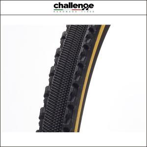 challenge(チャレンジ) (シクロクロス)シケイン 33 オープン WOタイヤ ブラックxスキン 33C 00710|agbicycle