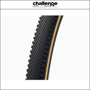 challenge(チャレンジ) (シクロクロス)デューン 33 オープン WOタイヤ ブラックxスキン 33C 00720|agbicycle