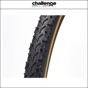 challenge(チャレンジ) (シクロクロス)ベイビーライムス 33 オープン WOタイヤ ブラックxスキン 33C 00616|agbicycle