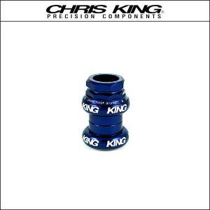 CHRIS KING/クリスキング GripNut 1(STD) Navy (白ロゴ)|agbicycle
