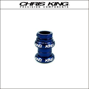 CHRIS KING/クリスキング GripNut 1-1/8(OS) Navy BOLD|agbicycle