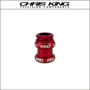 CHRIS KING/クリスキング GripNut 1-1/8(OS) Red BOLD|agbicycle