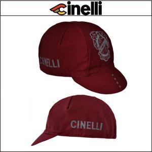 Cinelli チネリ CREST CAPS クレスト キャップ レッド|agbicycle