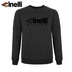 Cinelli/チネリ CINELLI MILANO FLOCKED CREWNECK チネリ ミラノ フロックド クルーネック  トップス|agbicycle