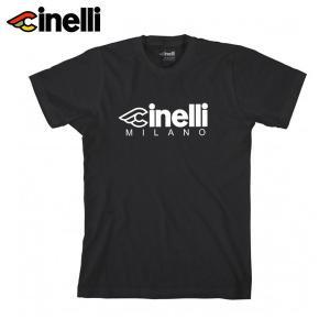 Cinelli/チネリ CINELLI MILANO T-SHIRT チネリ ミラノ Tシャツ Lサイズ|agbicycle