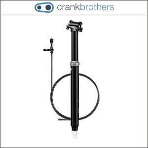 CRANK BROTHERS【クランクブラザーズ】ハイライン ドロッパーシートポスト【ハンドル】走行中でも簡単にサドル高の調整が可能なドロッパーシートポスト|agbicycle