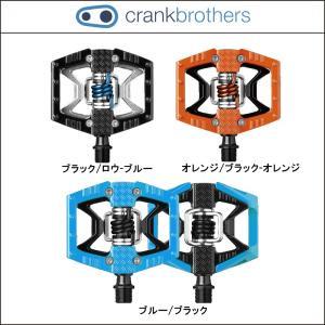 CRANK BROTHERS【クランクブラザーズ】ダブルショット【DOUBLESHOT】【ペダル】片面フラット、片面クリップのハイブリッドペダル|agbicycle