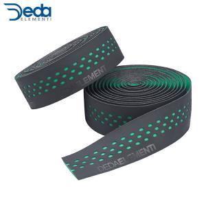 Deda/デダ バーテープ PRESA(プレーザ) ブラック/グリーン  DEDATAPE408 バーテープ ・日本正規品|agbicycle