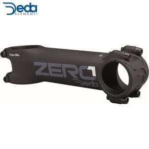 Deda/デダ Zero 1 シュレッドレスステム (31.7) ブラック(17〜 BOB 82° ハンドルステム(ロード/シュレッドレス) ・日本正規品|agbicycle
