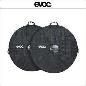 EVOC イーボック  ロードバイク ホイールケース 2個セット ブラック|agbicycle