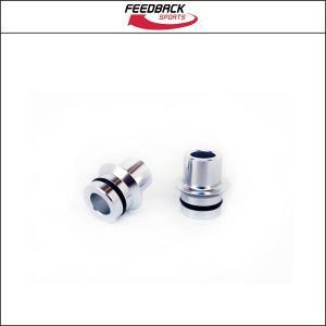 FeedBackSports(フィードバック・スポーツ)  12mm Thru End Cap Kit for Omnium|agbicycle