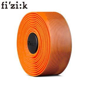 FIZIK フィジーク Vento ベント  マイクロテックス タッキー BICOLOR(2mm厚) ネオンオレンジxブラック  BT15A80047  バーテープ|agbicycle