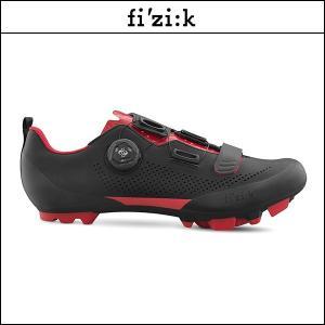 FIZIK フィジーク X5 TERRA BOA ブラック/レッド X5 テラ ボア ブラック/レッド|agbicycle