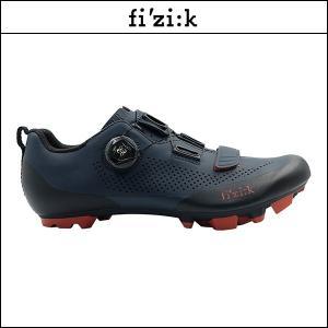 FIZIK フィジーク X5 TERRA BOA ダークブルー/ブラウン X5 テラ ボア ダークブルー/ブラウン|agbicycle