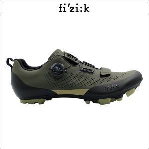 FIZIK フィジーク X5 TERRA BOA ミリタリーグリーン/タンギーグリーン X5 テラ ボア ミリタリーグリーン/タンギーグリーン|agbicycle