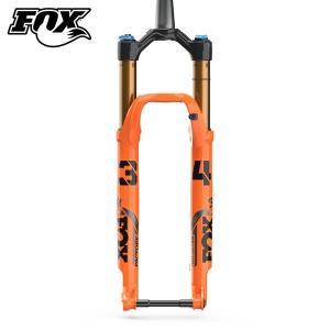 FOX/フォックス 34 FLOAT SC 27.5 120 FIT4 3Pos-Adj Orange KBLT 110 1.5T 44mm   フロントフォーク 2021年モデル|agbicycle