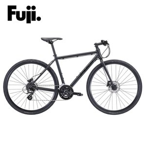 Fuji RAIZ DISC Matte Black  クロスバイク|agbicycle