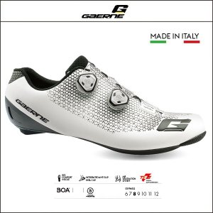 GAERNE ガエルネ  COMPOSITE CARBON G_CHRONO WHITE カーボン Gクロノ ホワイト|agbicycle