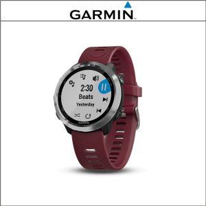 GARMIN (ガーミン)  ForeAthlete 645 フォアアスリート 645 ミュージック チェリー|agbicycle