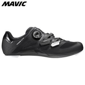 Mavic マヴィック マビック コスミック エリート ブラック/ホワイト/ブラック  自転車シューズ ・日本正規品|agbicycle