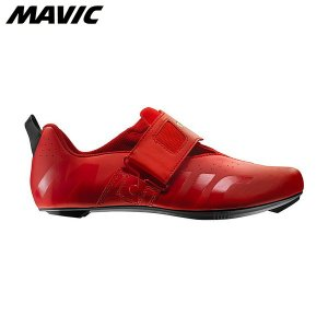 Mavic マヴィック マビック コスミック エリート トライアスロン シューズ フェリーレッド  自転車シューズ ・日本正規品|agbicycle