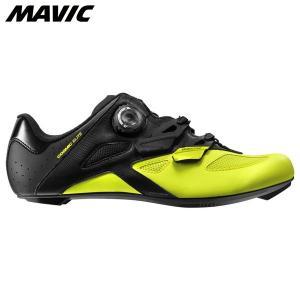Mavic マヴィック マビック コスミック エリート ブラック/ブラック/セーフティーイエロー  自転車シューズ ・日本正規品|agbicycle