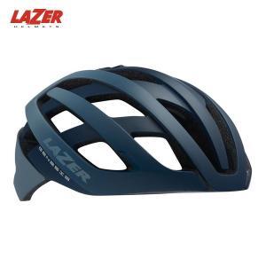 LAZER レイザー ジェネシス AF  マットブルー/グレー ヘルメット 日本正規品|agbicycle