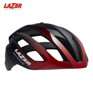 LAZER レイザー ジェネシス AF  レッドブラック ヘルメット 日本正規品|agbicycle
