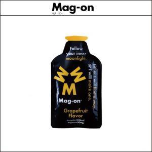 Mag-on マグオン エナジージェル グレープフルーツ味 12個 [マグネシウム 50mg] agbicycle