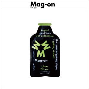 Mag-on マグオン エナジージェル 梅味 12個 [マグネシウム 50mg] agbicycle