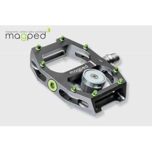 Magped(マグペド) Ultra ウルトラ  200N ビンディングペダル 片面マグネットタイプ・日本正規品|agbicycle