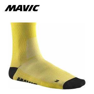 MAVIC(マビック) エッセンシャル ミッドソックス イエローマヴィック 日本正規品・2019年モデル|agbicycle