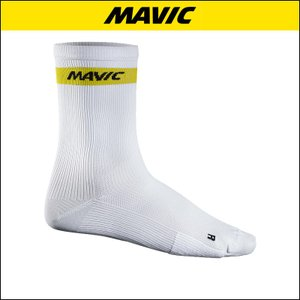 MAVIC(マビック) SOCKS COSMIC HIGH SOCK WHITE 自転車ソックス|agbicycle