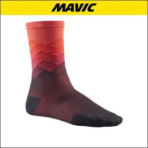 MAVIC(マビック) SOCKS COSMIC GRAPHIC SOCK FIERY 自転車ソックス|agbicycle