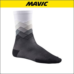 MAVIC(マビック) SOCKS COSMIC GRAPHIC SOCK WHITE 自転車ソックス|agbicycle