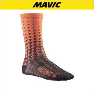 MAVIC(マビック) KSYRIUM MERINO GRAPHIC SOCK 自転車ソックス|agbicycle