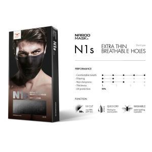 【納期未定予約商品】NAROO MASK ナルーマスク N1s 【UVカット】【虫除け】【夏用】|agbicycle|02