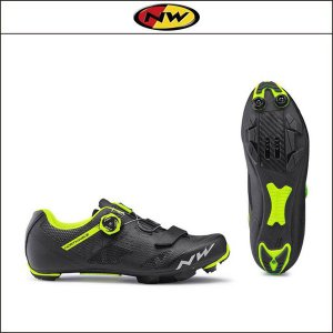 NORTHWAVE/ノースウェーブ RAZER レイザー BLK/YELLOW FLUO|agbicycle