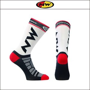 NORTHWAVE/ノースウェーブ  EXTREME LIGHT PRO SOCKS  エクストリーム ライト プロ ソックス WHITE/BLACK/RED|agbicycle