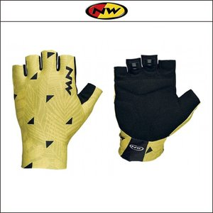 NORTHWAVE/ノースウェーブ  SWITCH LINE SHORT GLOVE  スイッチ ライン ショート グリップ FLOREAL YELLOW|agbicycle