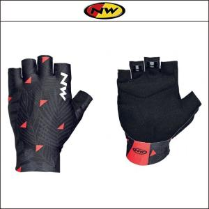 NORTHWAVE/ノースウェーブ  SWITCH LINE SHORT GLOVE  スイッチ ライン ショート グリップ FLOREAL BLACK|agbicycle