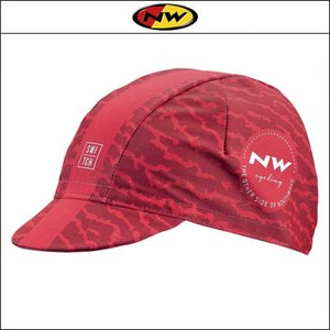 NORTHWAVE/ノースウェーブ  CAP ROUGH LINE  キャップ ラフ ライン RED|agbicycle