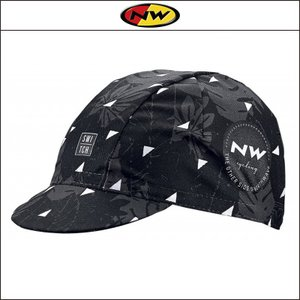 NORTHWAVE/ノースウェーブ  CAP FLOREAL LINE   キャップ フロレアル ライン BLACK|agbicycle