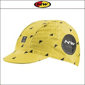 NORTHWAVE/ノースウェーブ  CAP FLOREAL LINE   キャップ フロレアル ライン YELLOW|agbicycle