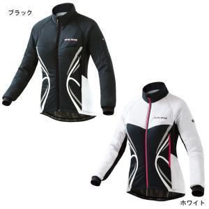 秋冬 pearlizumi パールイズミ ストレッチ インサレーション ジャケット W7900-BL|agbicycle