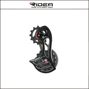 RIDEA/ライディア  T35 RD CAGE フルセラミックベアリング RD4(カンパ スーパーレコード、レコード、コーラス、アテナ)【ビッグプーリー】 agbicycle