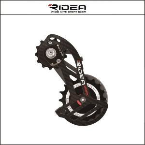 RIDEA/ライディア  C38 RD CAGE フルセラミックベアリング RD6(シマノR9100、R8000)【ビッグプーリー】|agbicycle